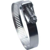 """QR28H Quick Release Partial Stainless Worm Gear Hose Clamp, 1"""" - 2-1/4"""" Clamping Dia. 10-Pack"""