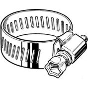 """CS8H Collared Screw Worm Gear Hose Clamp, 7/16"""" - 1"""" Clamping Dia. 10-Pack"""