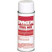 Dykem® 80096 - Steel Red™ Layout Fluid, 16 Ounce Aerosol (Pack of 12)