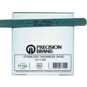 """0.020"""" Stainless Steel Thickness Gage 1/2"""" x 25' Coil"""