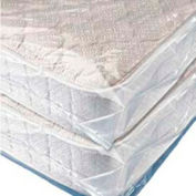 "Mattress Bags, Fits Queen Size, 95"" x 60"" 3 Mil Clear - Pkg Qty 50"