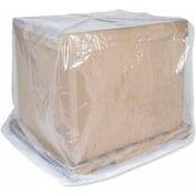 "Industrial Clear Pallet Cover,  54"" X 44"" X 72"", 2 Mils - Pkg Qty 50"