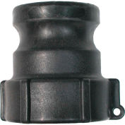 "3/4"" Polypropylene Camlock Fitting - Male Coupler x FPT Thread"