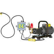 BE Pressure PE-1520EP1COMH 1500 PSI 2HP 2.0GPM Wall Mounted Electric Pressure Washer W/ Baldor Motor