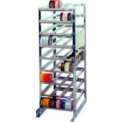 "Prairie View Cr1620, Full Size Can Rack, 25""W x 72""H x 36""D"
