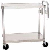 """Prairie View AUC2036, Utility Cart, 2-Shelf, 20""""W x 36""""H x 36""""D, Aluminum"""