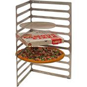 "Prairie View TPZ2010 - Aluminum Table Top Pizza Rack, 10 Pan Capacity, 18""W x 21""D x 30""H"