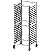 "Prairie View WE302424KD-DSR, Donut Screen Rack, KD, End Load, 26-1/2""W x 24""D x 71-1/2""H, Aluminum"