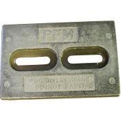 Performance Metals Mini Divers Anode Aluminum 1.1 Lbs, 6 x 4 x 1/2 - HMDDA
