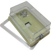 "PSG BTGRK Thermostat Guard Solid Base: 6.325""Hx3.5""Wx3""D Ring base: 6.325""Hx3.5""Wx3.25""D"