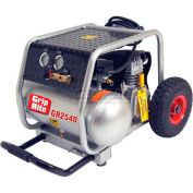 Grip-Rite Portable Air Compressor GR2540, Single Tank W/Wheels, 120V, 2.5HP, 4 Gal
