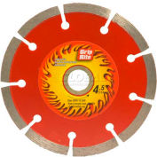 "Grip-Rite Industrial Segmented Diamond Saw Blade - 4.5"" Dia. 7mm Rim - Pkg Qty 5"