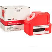 Sharps Assure 1 Gallon Sharps Retrieval Program