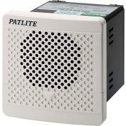 Patlite BDV-15JF-J 4-Channel MP3 Smart Alert, User Programmable, Off White, DC12V to DC24V