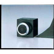 Patlite BM-202H+FC001 Panel Mount Smart Alert Alarm, 2 Sounds, Dark Gray, AC/DC24V