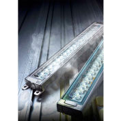 Patlite CLK6CL-24AG-CD Industrial LED Machine Light, 600mm, Tempered Glass, Aluminum, DC24V