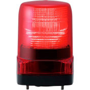 Patlite LFH-M2-R LED Signal Light, Outdoor Rated, Red Light, AC100V to AC240V