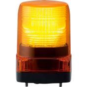 Patlite LFH-M2-Y LED Signal Light, Outdoor Rated, Amber Light, AC100V to AC240V