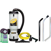 ProTeam® 10 Qt. LineVacer HEPA Backpack Vacuum w/High Filtration Tool Kit - 100277