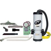 ProTeam® 10 Qt. MegaVac Backpack Vac w/Blower & 2 Hard Floor Brush Tools, Wand Kit - 105892
