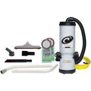 """ProTeam® 10 Qt. MegaVac Backpack Vac w/Blower Tool, 14"""" Hard Floor Tool Kit - 105896"""