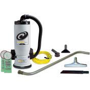 "ProTeam® 6 Qt. Aviation Backpack Vacuum w/Tool Kit 1-1/2"" - 106542"