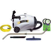 "ProTeam® 10 Qt. QuietPro CN HEPA Canister Vac w/14"" Floor Tool, Telescoping Wand Kit - 107152"