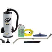 "ProTeam® 6 Qt. Aviation Backpack Vac w/14"" Floor Tool, Telescoping Wand Kit - 107156"
