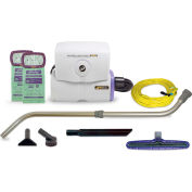 """ProTeam® 6 Qt Super HalfVac Pro Hip Vac w/14"""" Floor Tool, Telescoping Wand Kit - 107325"""