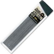 Pentel® Super Hi-Polymer Lead Refill, Fine, HB Leads, 0.5mm, Black, 30/Tube