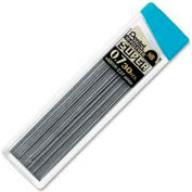 Pentel® Super Hi-Polymer Lead Refill, HB Leads, 0.7mm, Medium, Black, 30/Tube