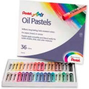 Pentel® Oil Pastels, 36 Assorted Colors, Set of 36
