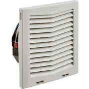 Hoffman HF Series 10 Inch Side-Mount Filter Fan for Enclosure, 159 CFM, 24V
