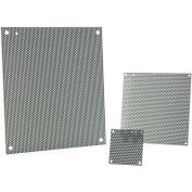 Hoffman A16N12MPP, Panel, 13.00x10.50, Fits 16x12 Med, Steel/Gray