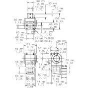 Hoffman A903624FSG, Free-Stand, Single/Dual Access, Type 12, 90.06X36.06X24.06, Steel/Gray