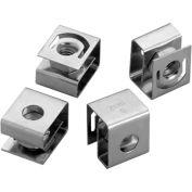 Hoffman ANM5, Clip Nut Pkg For Rack A., M5, Steel/Zinc