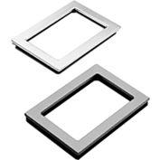 Hoffman APWK2315NF, Window Kit, 23.00x15.00, 25.50x17.50x.31, Steel/Gray