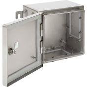 Hoffman ATEX45P38, Zonex™ Panel, Atex, 413X337Mm, Fits 458X382Mm, Steel/White