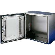 Hoffman CSD16208EMCSS, CONCEPT™ EMC Enclosure, Type 4X, 16.00x20.00x8.00in, SS Type 304