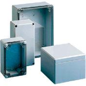 Hoffman Q554ABDCC QLINE™ J Box, Clear Screw Cover, Type 4X, 55x53x35mm, ABS
