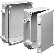 Hoffman Q604013PCIQRCCR, QLINE™ J Box, Clear Cvr, Type 4X/QR, 22.83x14.96in, 4.53in