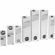 Hoffman® Mid-Size Heat Exchanger XR605516012 Light Gray 115V 50/60Hz, 59-11/16x15-1/4x5-15/16