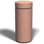 """Petersen Manufacturing B-11 Round Concrete Bollard, 18"""" Dia X 43"""" H, Type B Mount, Tan"""