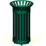 Avenue Series Metal Cigarette Urn - Green