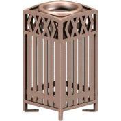Novak Series Metal Cigarette Urn - Bronze