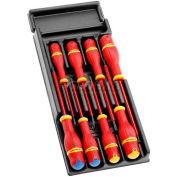 Facom® 8 Piece 1000V Insulated Screwdriver Set
