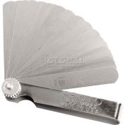 "Proto® 25 Blade Metric Feeler Gauge Set, 1/2"" x 3-5/16"" Blades"