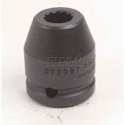 "Proto J07521T 3/4"" Drive Impact Socket 1-5/16"" - 12 Point, 2-3/16"" Long"
