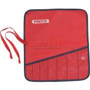 """Proto J25TR37C 7 Pocket Tool Roll, 11""""L, 8-1/2""""H"""