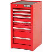 "Proto® 440SS Side Cabinet - 6 Drawer, Black, 15""L X 29""H X 18""D"